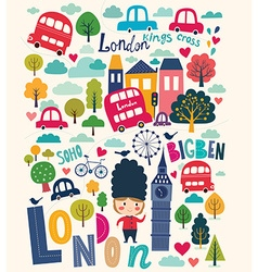 London life vector image