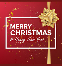 Merry christmas background beautiful vector