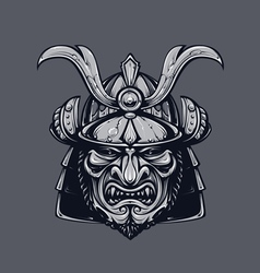 Samurai Mask 3 vector