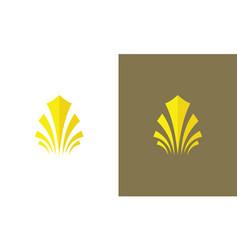 swirl decorative logo vector image