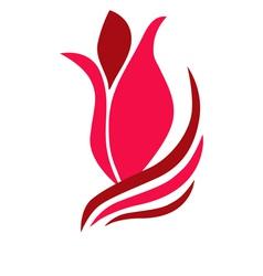 Tulip symbol vector