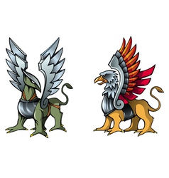 Fairy griffins vector image