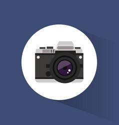 photo camera picture travel icon vector image