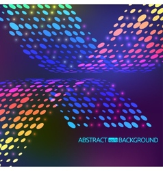 abstract background with circles vector image vector image