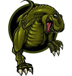 dinosaur mascot vector image
