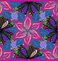 abstract ethnic seamless pattern tribal art boho vector image