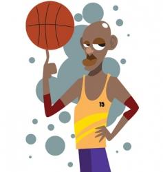 basketball man vector image