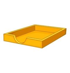 Cat toilet icon cartoon style vector image