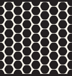 hexagon seamles geometric pattern vector image