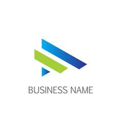 line business company logo vector image