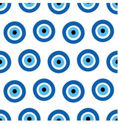 nazar amulet evil eye sign symbol pattern vector image