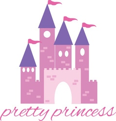 Pretty Princess vector image