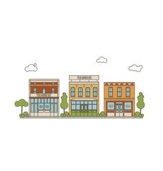 Urban Scene Concept vector image