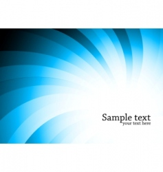 vector abstract blue background vector image