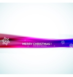 Christmas abstract background colorful line vector image vector image