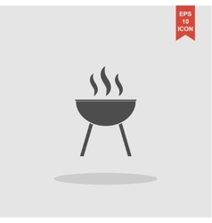 Barbecue Icon concept for vector image