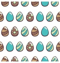 Happy Easter Day Seamless Pattern vector image