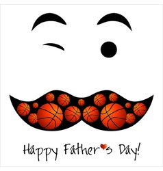 Happy fathers day background or card vector