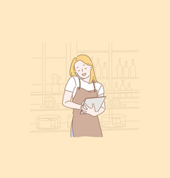 order food online concept vector image