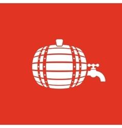 The Barrel icon Cask and keg beer Barrel symbol vector