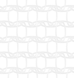 3D interlocking ornament vector image