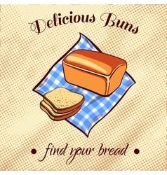 Bread On A Napkin vector