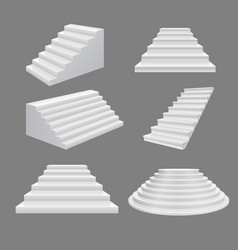 Building stairs 3d scala vector