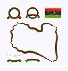 Colors libya vector