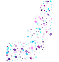 geometric starlight banner vector image