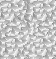 Grayscale Cubes Background vector