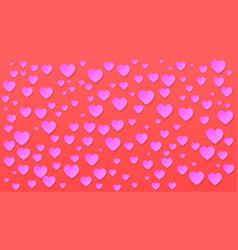 paper cut romantic background vector image