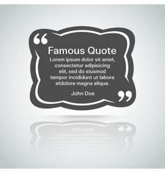 quote border vector image