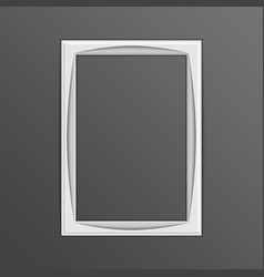 single photo frame vector image