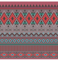 Tribal boho seamless pattern ethnic geometric vector