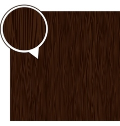 Wood texture background - dark brown vector