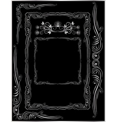 frames corners and ornaments vector image vector image
