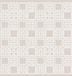 abstract geometric tribal style seamless pattern vector image