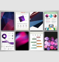 blue and purple backgrounds and abstract concept vector image