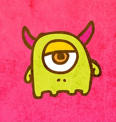 Cyclop Cartoon vector