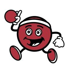 Dodgeball Mascot vector image