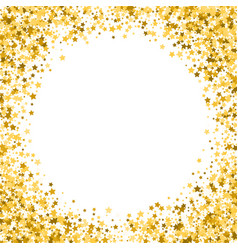 Gold stars on a white background golden stars on vector