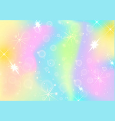 holographic abstract background mother-of-pearl vector image