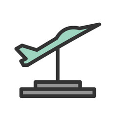 Jet exhibit vector