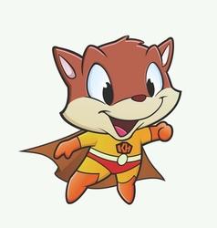 Kitten Superhero vector image