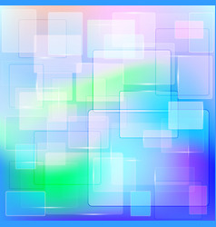 abstract geometric background of transparent vector image vector image