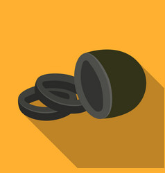 black oliveolives single icon in flat style vector image