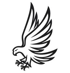 Eagle vector image