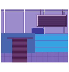 Modern Office Background vector image