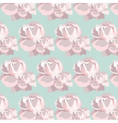 Watercolor Pink Rose pattern vector image