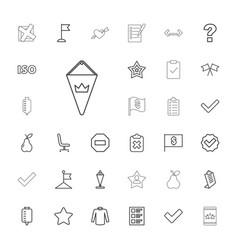 33 mark icons vector